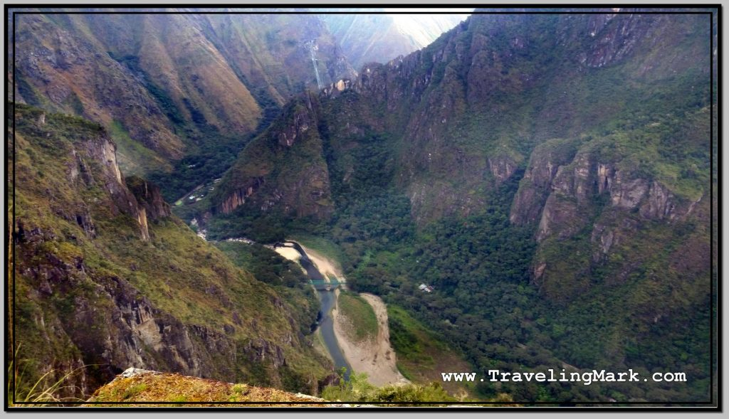 Photo: Urubamba River Seen from Machu Picchu