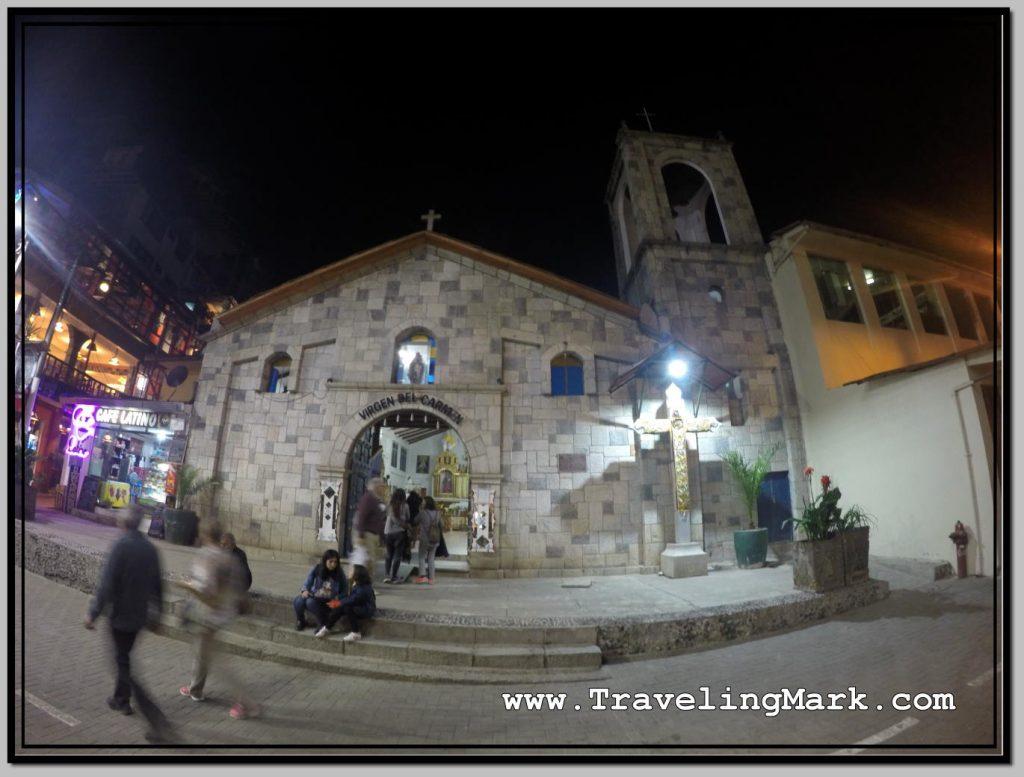 Photo: Virgin del Carmen Church in Aguas Calientes